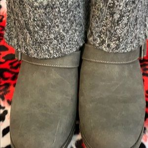 Rocket dog sweater ankle boots